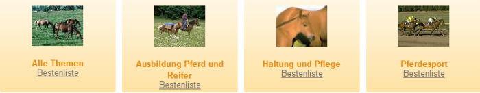 Quiz für Pferdefreunde: Pferdequiz - Reiterquiz