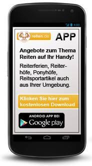 Das neue Reiten App - kostenlos für Euch aufs Handy