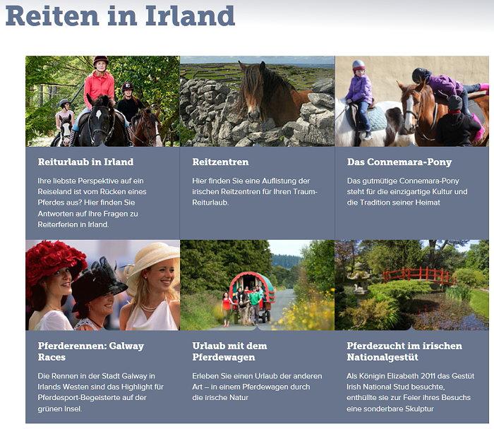 Reiturlaub in Irland