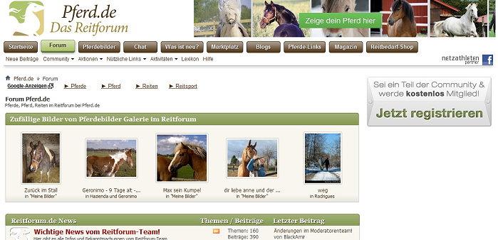 Pferd.de - Das Reitforum !!!