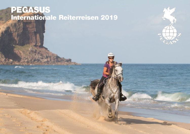 PEGASUS Internationale Reiterreisen 2019 Katalog anfordern!