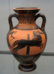 In der nordischen Mythologie wurden Pferde als Machtwettkampf zwischen Odin und Hrungnir verwendet, wobei der griechische Gott gewann