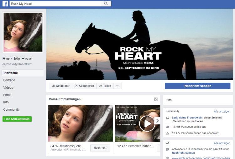 Besuche ROCK MY HEART auf facebook