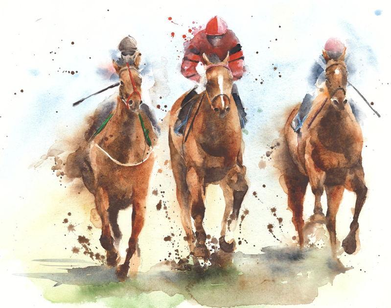 tolle Pferderennen