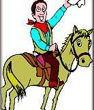 Einer der wichtigsten Grundsätze beim Anreiten eines junges Pferdes ist...