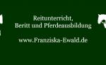 Biete Reitunterricht, Beritt und Pferdeausbildung in Aschaffenburg und Umgebung