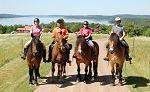 Natural horsemanship und Wanderreiten in Süd-Schweden