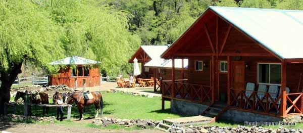 Lodges auf der Pferderanch