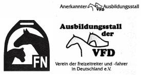 FN und VFD anerkannter Ausbildungsstall