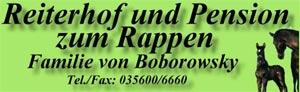 Reiterhof und Pension Zum Rappen