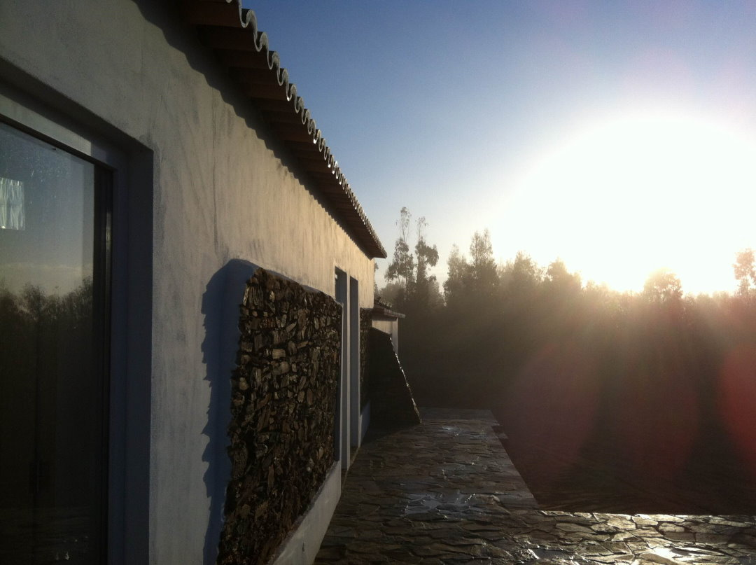 Sonnenuntergang - Reiterferien Portugal