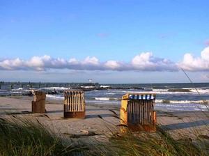Strandkörbe am Nordseestrand