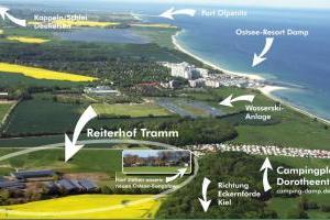 Reiterhof Tramm - an der Ostseeküste in der Nähe von Damp
