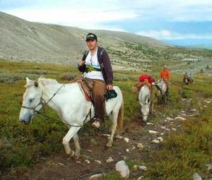 Reiterreisen in der Mongolei
