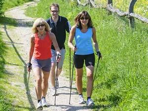 Nordic Walking im Urlaub
