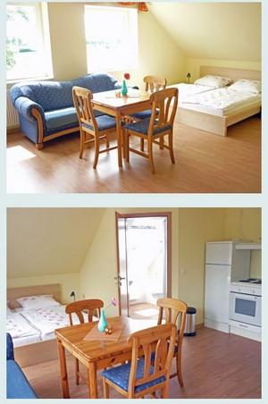 Unsere Appartements auf dem Reiterhof