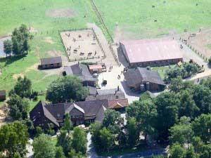 Ponyhof Woltermann - Luftbild