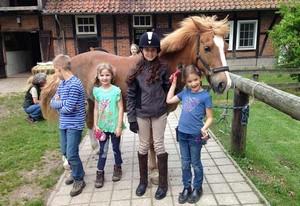Reiterferien für Kinder in der Lüneburger Heide