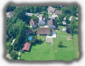 Luftansicht Island-Ponyhof Isenburg