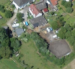 Luftaufnahme des Reiterhofes