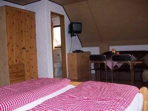 Doppelzimmer auf dem Reiterhof