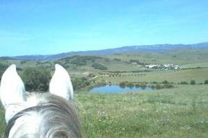 Cortijo Sambana, Natur pur im Flusstal des Guardiaro, Andalusien