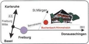 Wegbeschreibung zu unserem Reiterhof Erlenhof