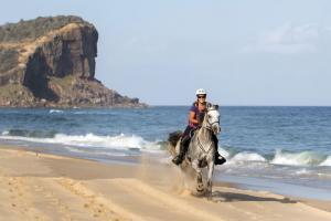 Strandritt in Australien