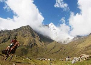 Reiten in Peru
