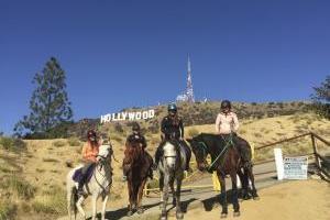 HOLLYWOOD - Reitabenteuer im Wilden Westen der USA - Reiturlaub in den USA