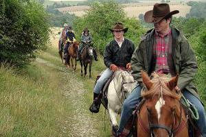 Wochenend und Wochenausritte im Westernreiten und Freizeitreiten