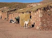 Reiten durch die Atacama Wüste in Südamerika